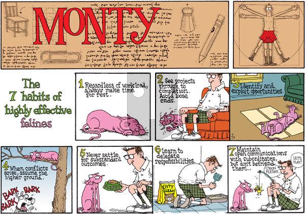 Monty on Sunday July 17, 2011 Comic Strip