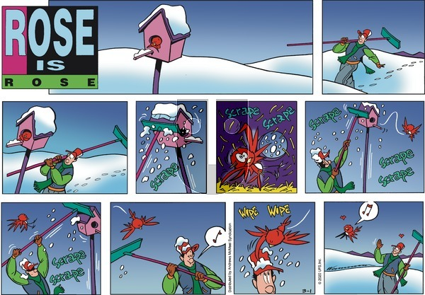 Rose is Rose - Sunday March 1, 2020 Comic Strip