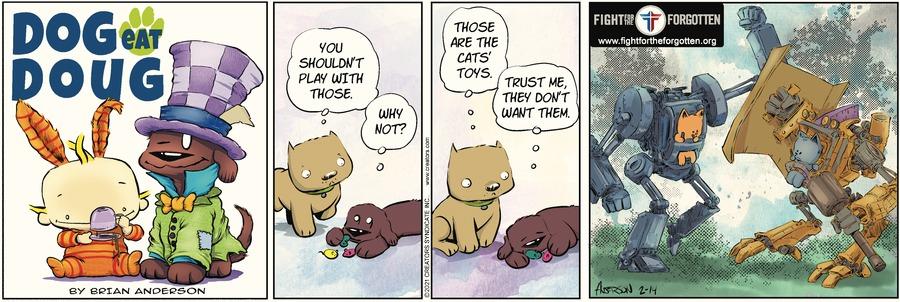 Dog Eat Doug Comic Strip for February 14, 2021