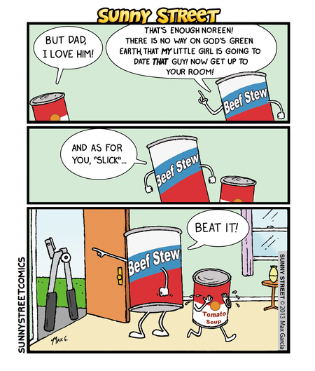 Sunny Street Comic Strip for June 23, 2016