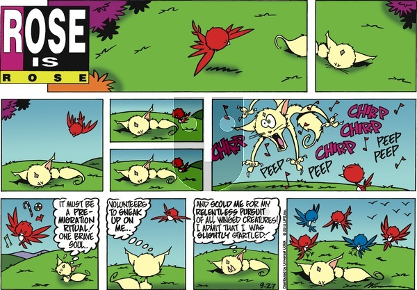 Rose is Rose on Sunday September 27, 2015 Comic Strip
