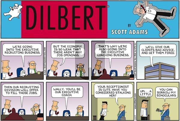 Dilbert - Sunday June 28, 2009 Comic Strip