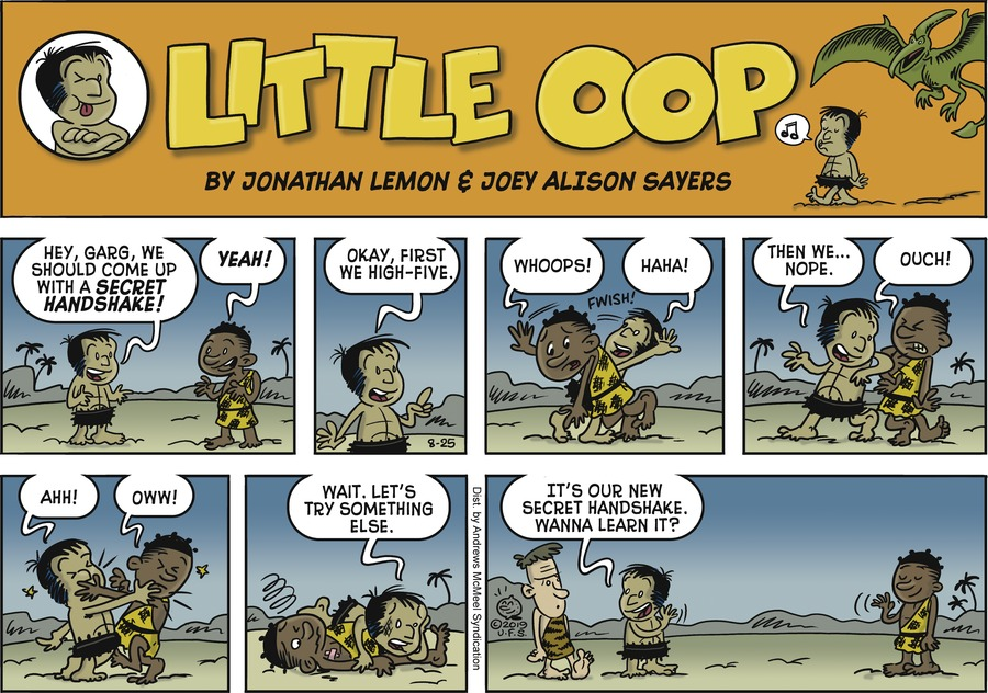 Alley Oop Comic Strip for August 25, 2019