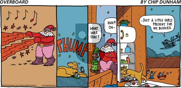 Overboard on December 16, 2018 Comic Strip