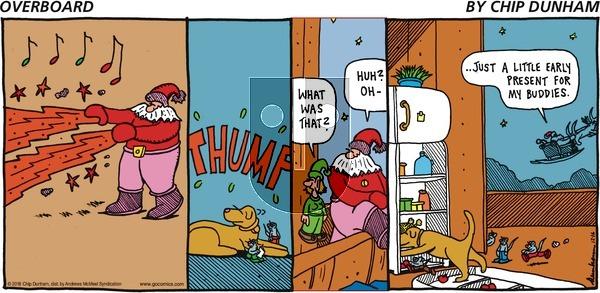 Overboard on Sunday December 16, 2018 Comic Strip