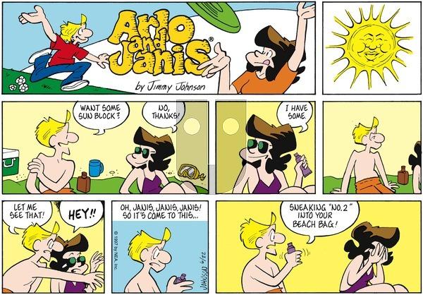 Arlo and Janis on Sunday June 22, 1997 Comic Strip