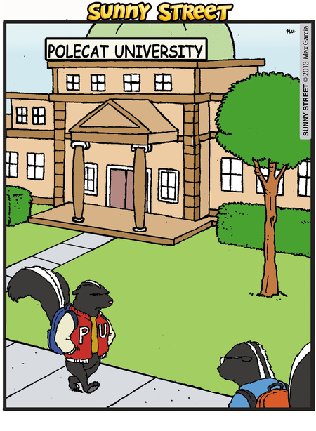 Sunny Street Comic Strip for August 13, 2013