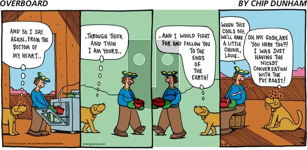 Overboard on Sunday March 24, 2019 Comic Strip