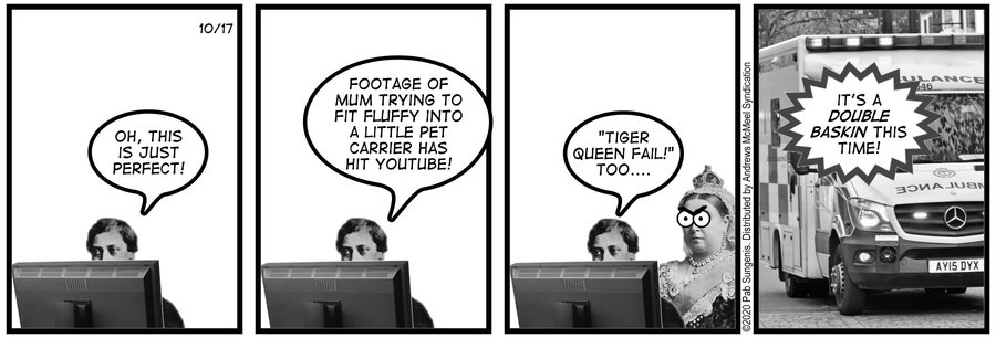 New Adventures of Queen Victoria Comic Strip for October 17, 2020