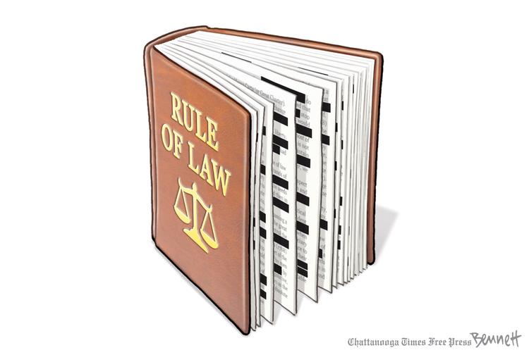 Clay Bennett by Clay Bennett for April 23, 2019