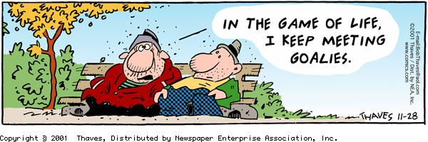 Frank and Ernest for Nov 28, 2001 Comic Strip