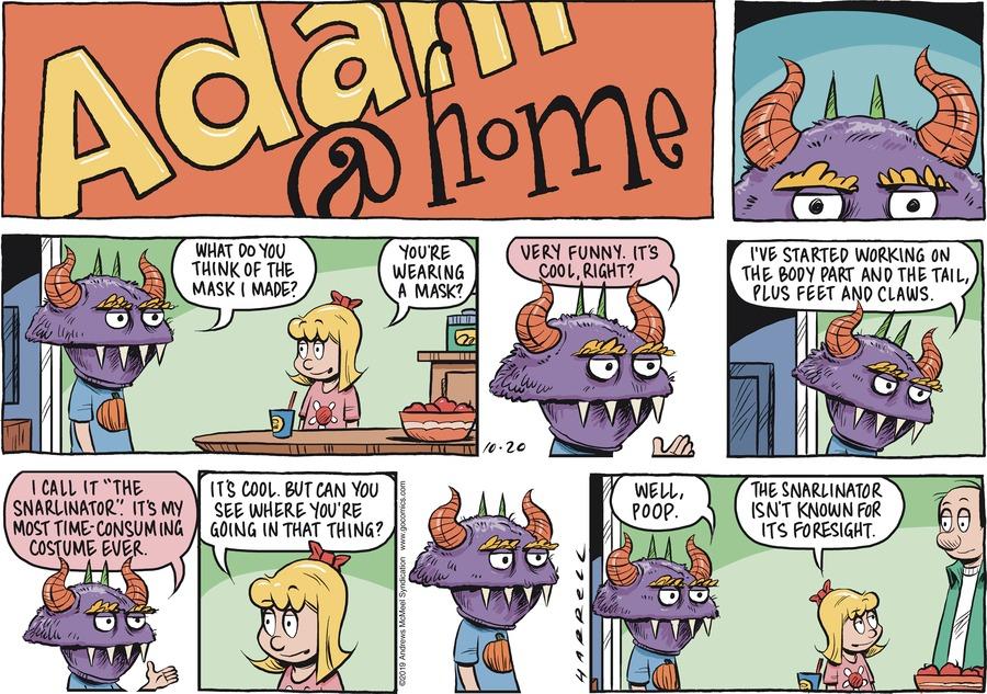 Adam@Home Comic Strip for October 20, 2019