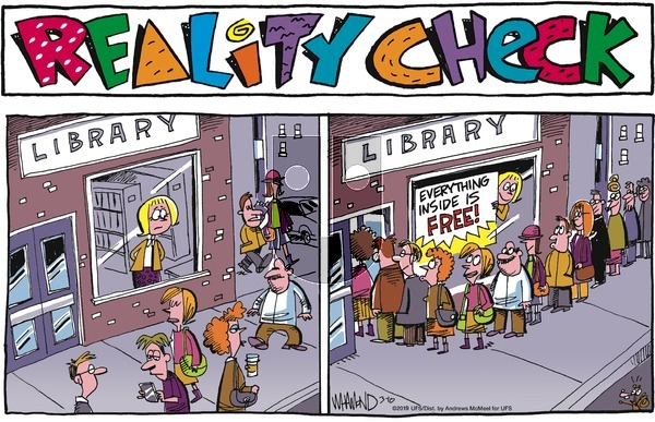 Reality Check on Sunday March 10, 2019 Comic Strip