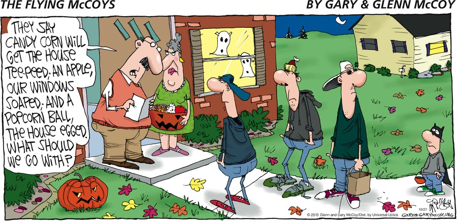 The Flying McCoys Comic Strip for October 27, 2013