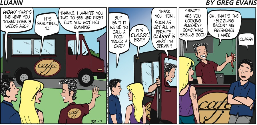 "Brad: ""WOW! That's the heap you towed home 3 weeks ago?""