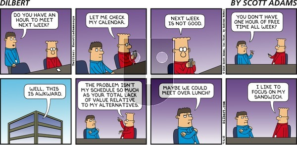 Dilbert on Sunday September 16, 2018 Comic Strip