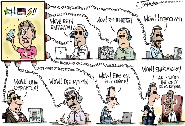 Joe Heller for Oct 30, 2013 Comic Strip