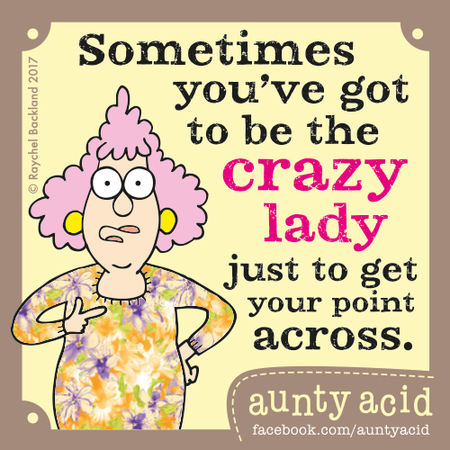 Aunty Acid for Jul 5, 2017 Comic Strip
