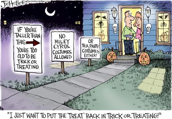Joe Heller for Oct 31, 2013 Comic Strip