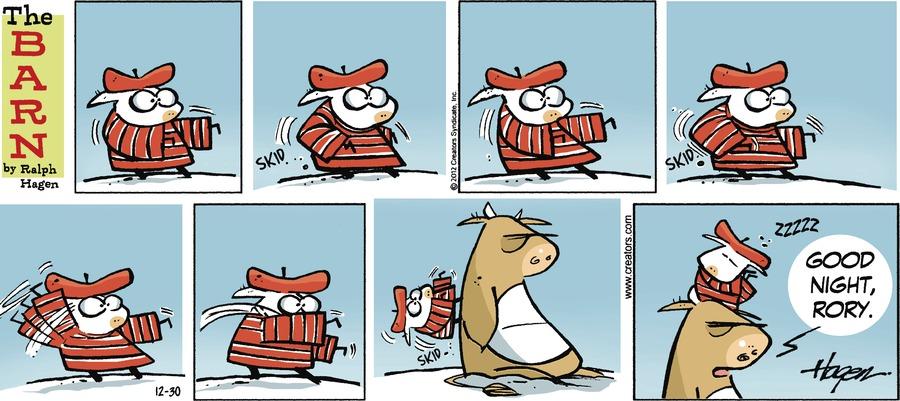 The Barn for Dec 30, 2012 Comic Strip