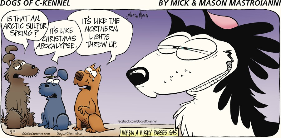 Dogs of C-Kennel Comic Strip for August 09, 2020