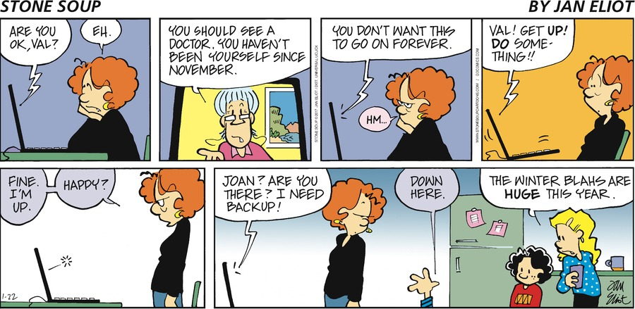 Stone Soup Comic Strip for January 22, 2017