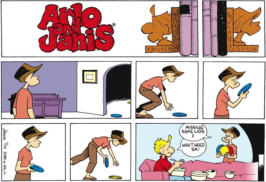 Arlo and Janis Comic Strip for November 28, 1999