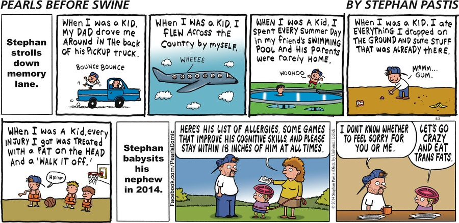 Pearls Before Swine for Aug 3, 2014 Comic Strip