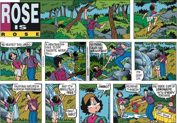 Rose is Rose - Sunday June 30, 2019 Comic Strip