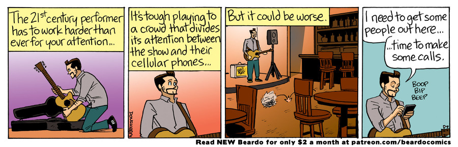 Beardo by Dan Dougherty on Mon, 27 Sep 2021