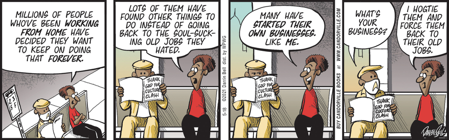Candorville Comic Strip for May 18, 2021