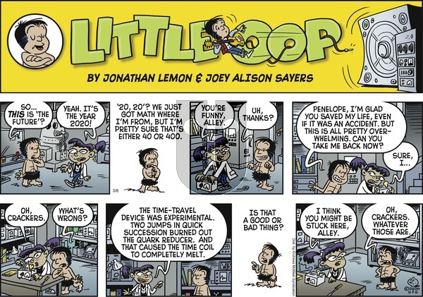Alley Oop on Sunday March 8, 2020 Comic Strip
