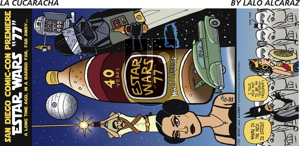 La Cucaracha on Sunday July 23, 2017 Comic Strip