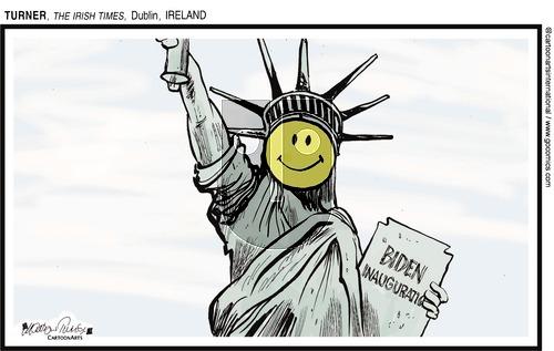 ViewsAmerica on Sunday January 24, 2021 Comic Strip