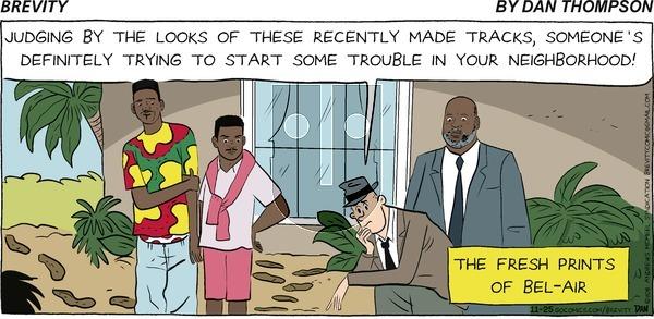 Brevity on Sunday November 25, 2018 Comic Strip