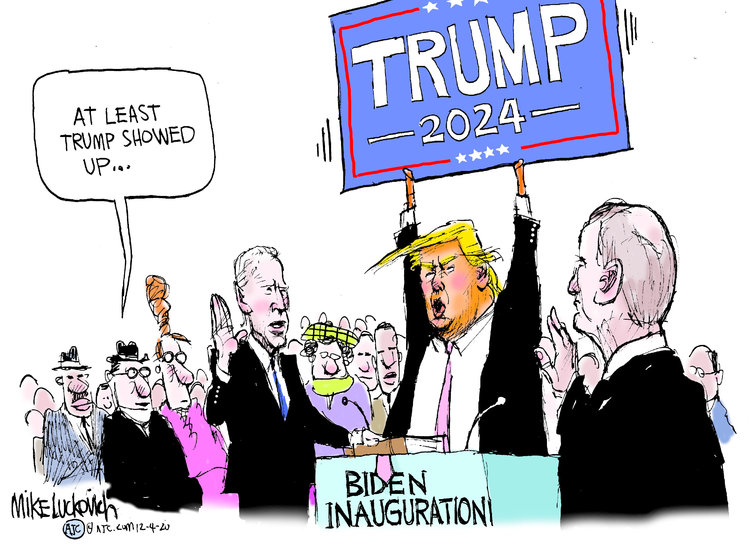 Mike Luckovich Comic Strip for December 04, 2020