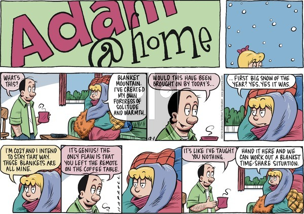 Adam@Home on Sunday December 1, 2019 Comic Strip
