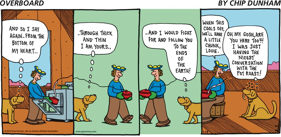 Overboard Comic Strip for March 24, 2019