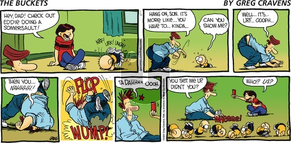 The Buckets on Sunday July 12, 2020 Comic Strip