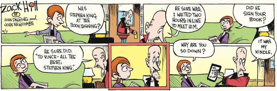 Zack Hill for Apr 7, 2013 Comic Strip