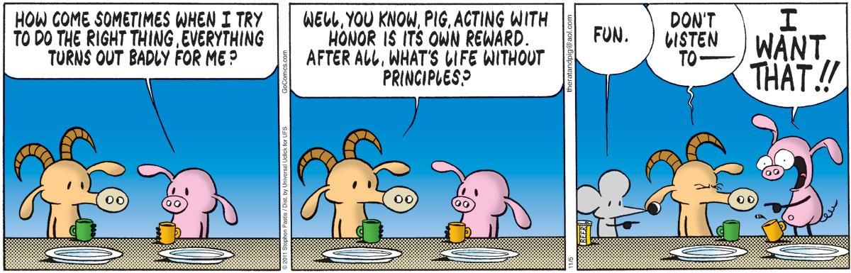 Pearls Before Swine Comic Strip for November 05, 2011