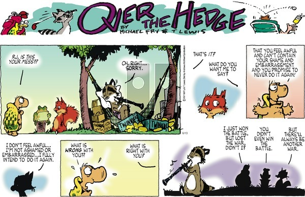 Over the Hedge - Sunday June 13, 2021 Comic Strip