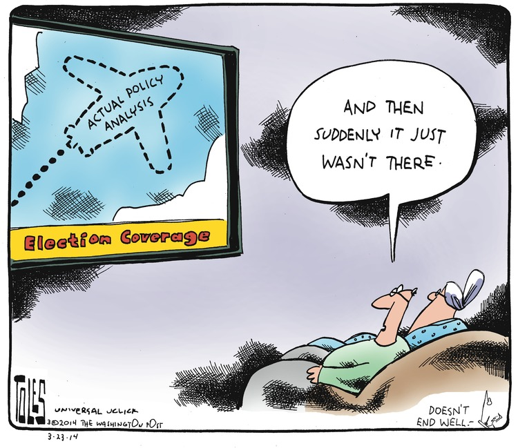Tom Toles Comic Strip for March 23, 2014