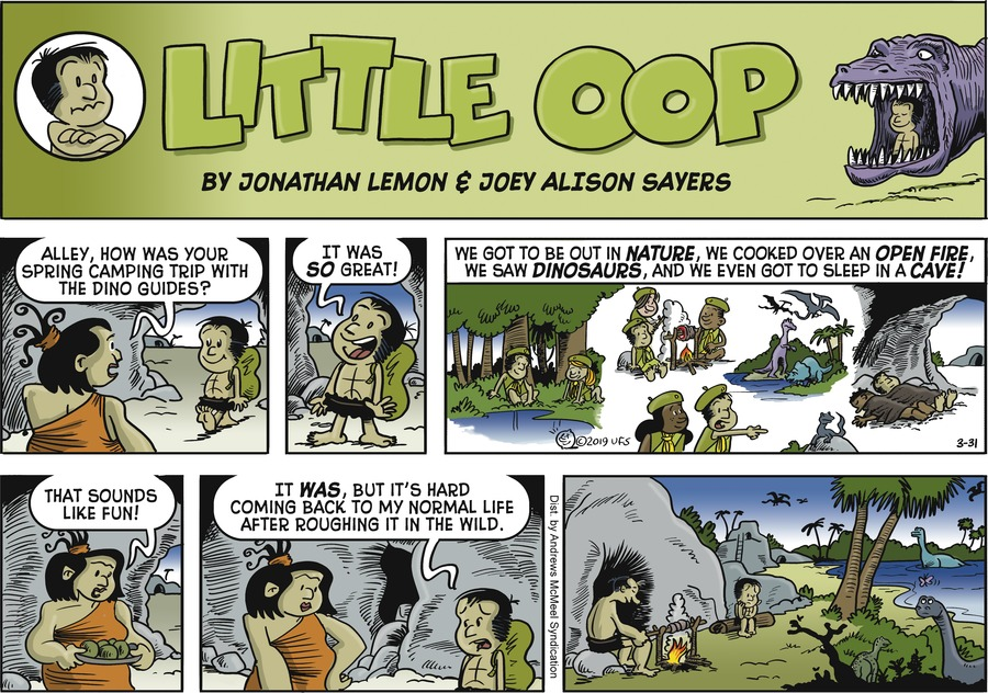 Alley Oop Comic Strip for March 31, 2019