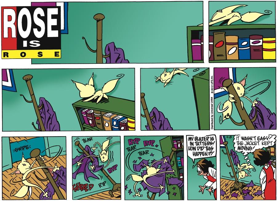 Rose is Rose Comic Strip for April 08, 2012