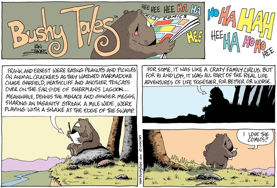 Bushy Tales Comic Strip for September 27, 2020
