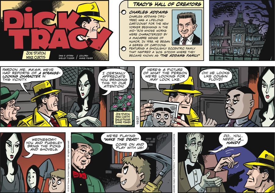 Dick Tracy Comic Strip for October 27, 2019