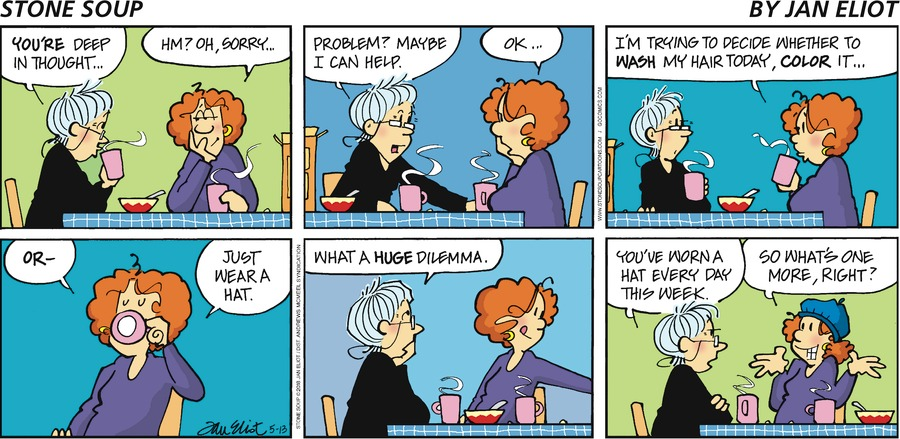 Stone Soup for May 13, 2018 Comic Strip