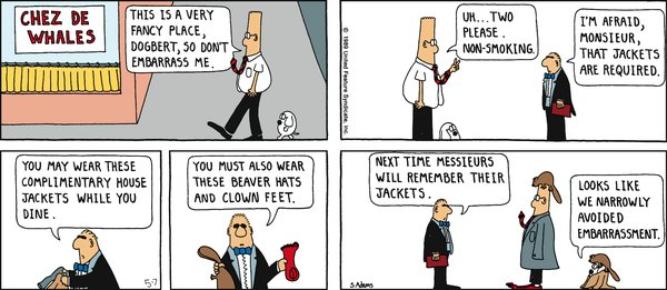 Collectible Print of dilbert classics