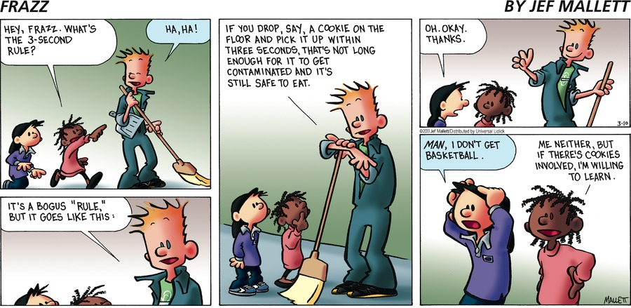 Frazz Comic Strip for March 10, 2013
